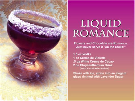 valentines day drink recipes herb s cocktail recipes signaturecocktailcreations