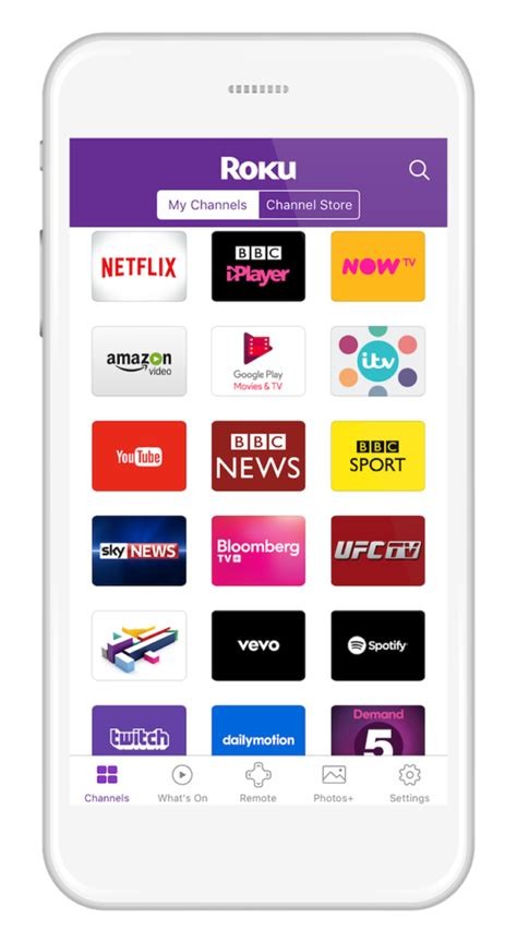 roku app android roku uk updated roku mobile app for ios and android