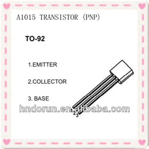 a1015 transistor pin configuration a1015 pnp plastic encapsulate transistor to 92 package buy a1015 transistor package to 92