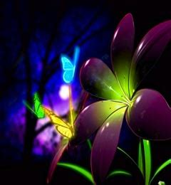 animated flower wallpaper animated flowers wallpapers