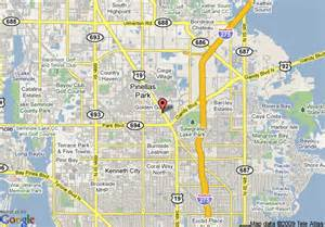 map of country inn suites by carlson pinellas park fl