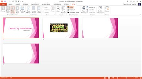 slide layouts in powerpoint tutorial teachucomp inc slide sorter button video search engine at search com