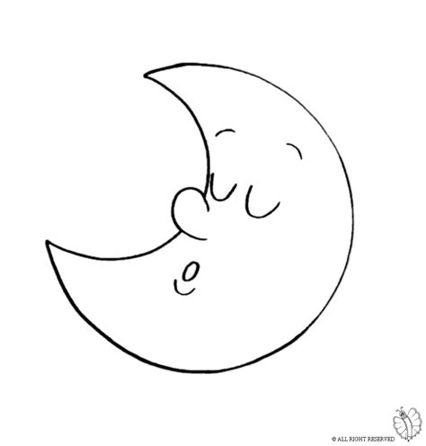 preschool coloring pages moon moon coloring pages preschoolers moon best free coloring