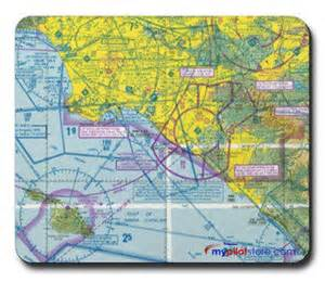 mouse pad vfr sectional chart mypilotstore