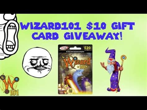 Wizard101 10 Gift Cards - 10 wizard101 gift card giveaway thanks for 5k subs youtube