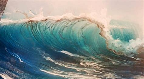 airbrushing a wave with spray paint techniques