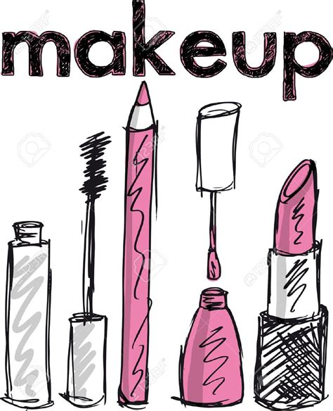 imagenes i love make up makeup clipart girly wallpaper pencil and in color