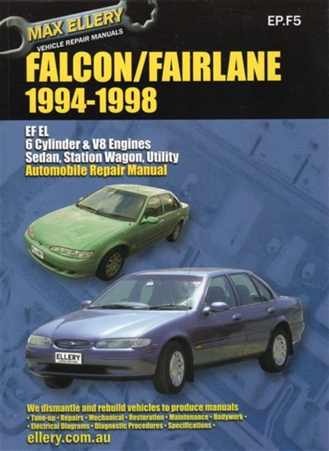 what is the best auto repair manual 1994 lexus es windshield wipe control ford falcon fairlane ef el repair manual 1994 1998 new sagin workshop car manuals repair books