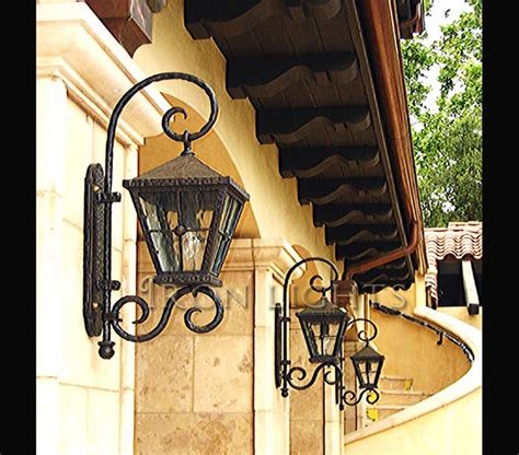 wrought iron exterior lights 9 best images about patio on