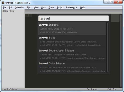 laravel tutorial for beginners windows learn how to use laravel with sublime text