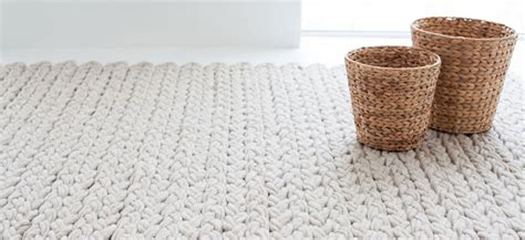 knitted rug my scandinavian home cosy knit rugs