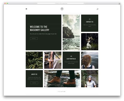 wordpress themes for gallery sites 30 best personal business portfolio wordpress themes to