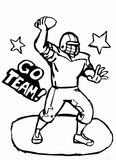 football guy coloring page football coloring pages of guy coloring home