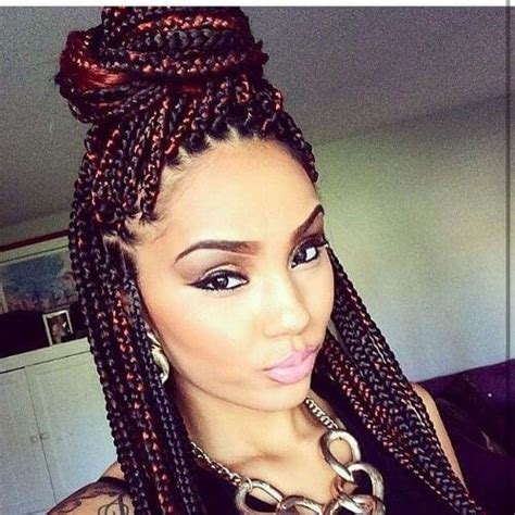 how to darken your box braids color 80 great box braids styles for every occasion