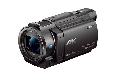 with camcorder sony s newest handycam delivers 4k clarity and detail in a