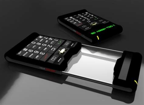 matrix phone 02 concept is sci fi material, comes with a