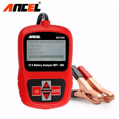 Auto Car 12v Battery Tester Analyzer With Bluetooth 4 0 In Real Time M aliexpress buy ancel bst200 russian multi