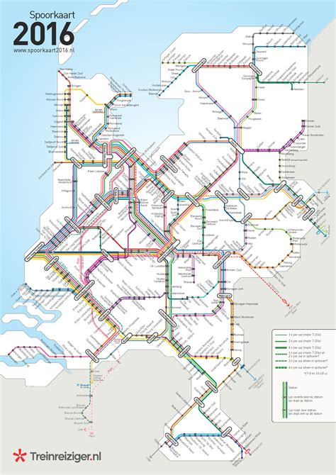 netherlands line map railroad map of the netherlands 2016 maps on the web