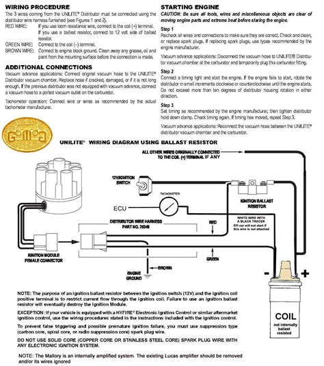 ignition coil ballast resistor wiring diagram elvenlabs