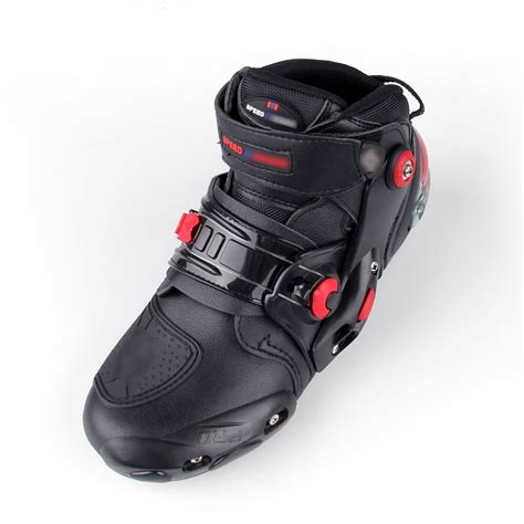 sportbike racing boots motorcycle leather boots boot shoes waterproof
