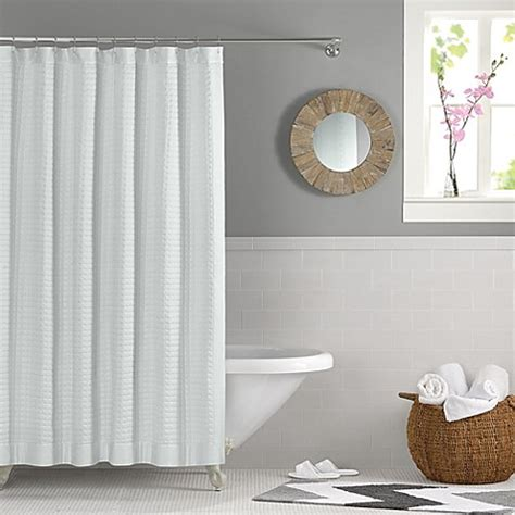 real simple bathroom real simple retreat shower curtain bed bath beyond