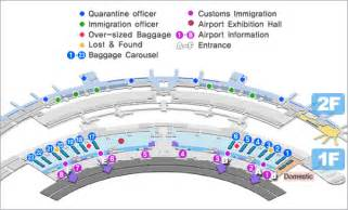 seoul incheon international airport maps of arrivals and
