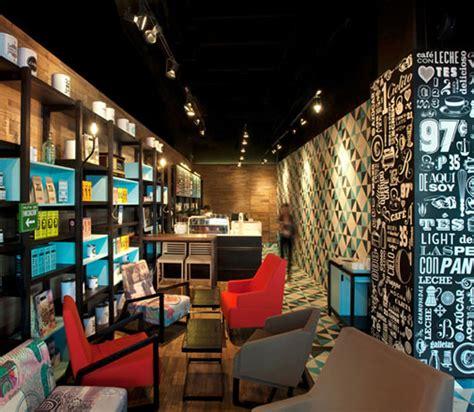 Cool Cafe Interiors by Retro Coffee Bar Interior Design Coffee Day