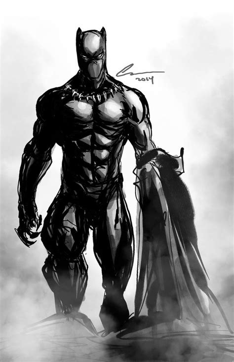 black panther by christopher 0785192670 black panther by randomality85 black panther 마블 코믹스 및 스케치