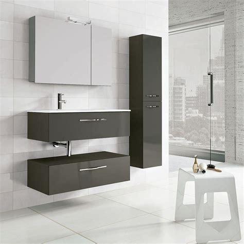meuble salle de bain 90 cm 2 tiroirs play