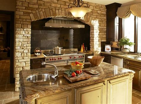 Tuscan Home Design Ideas by Tuscan Kitchen Design Ideas