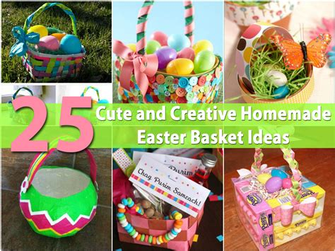 homemade easter basket ideas homemade easter baskets crafts