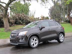 2015 chevrolet trax chevy gas mileage the car connection