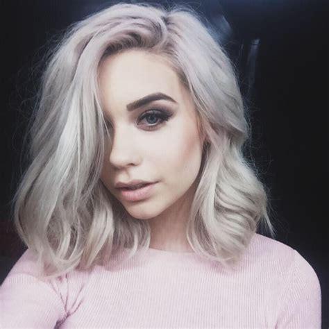 blonde grey hairstyles joannatalaver going blonde