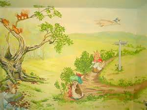 Peter Rabbit Wall Murals Sacredart Beatrix Potter Mural