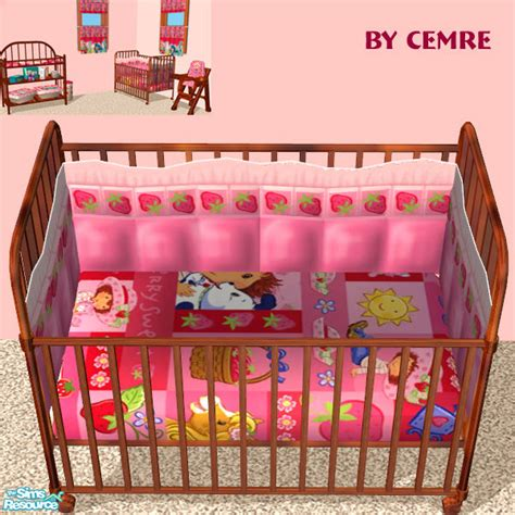 Strawberry Shortcake Crib Bedding Cemre S Strawberry Shortcake Set Crib Bedding