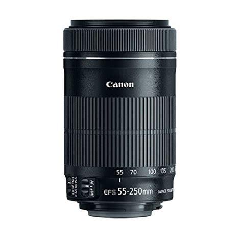 Resmi Lensa Canon 55 250mm canon ef s 55 250mm f4 5 6 is stm lens for canon slr cameras