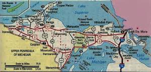 Map Of Up Michigan by North Country By Roxane Bibliophilopolis