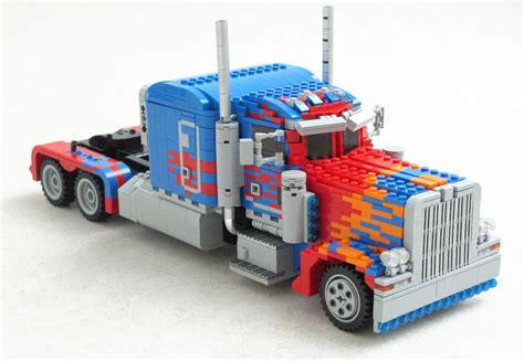 Transformer Optimus Prime Lego optimus prime transformer lego 02 9to5toys