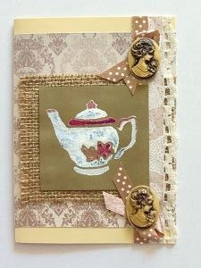 vintage cards to make burlap and cameo vintage card allfreepapercrafts