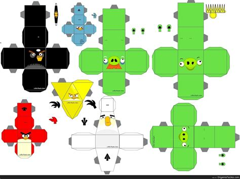 D D Papercraft - origamis y papercraft papercraft angry birds