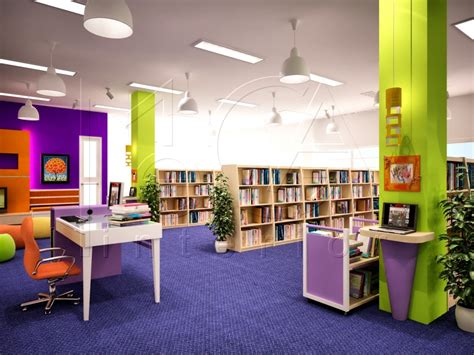 design school in indonesia primary library ii 1 mi design interior