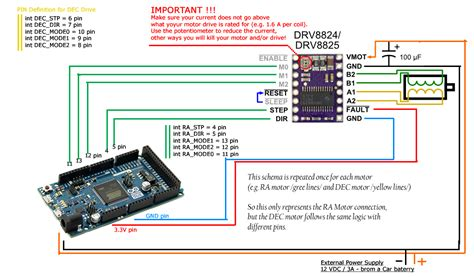 arduino code drv8825 rduinoscope arduino project hub