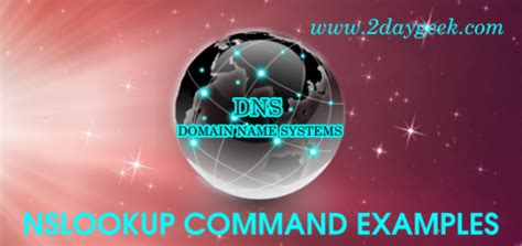 Check Dns Lookup Check Dns Domain Name Server Records On Linux Using Dig Command 2daygeek