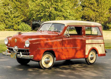 crosley car 1952 crosley station wagon autographic s automotive report