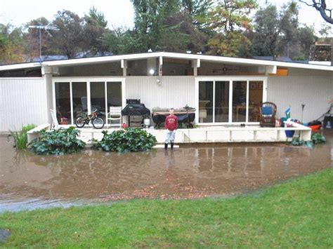 Backyard Flooding by Granite Bay Placer County Flooding Around