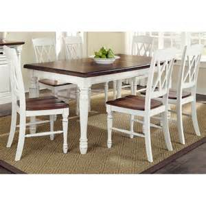 monarch white oak 7 dining set