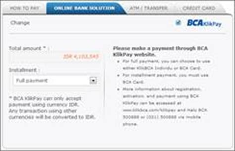 bca klikpay how to pay for a flight or hotel booking on nusatrip com