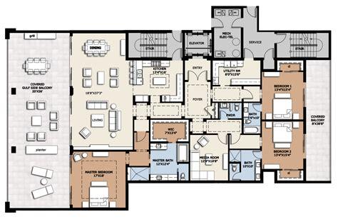 infinity condo floor plans floor plan residence b infinity longboat key condos for