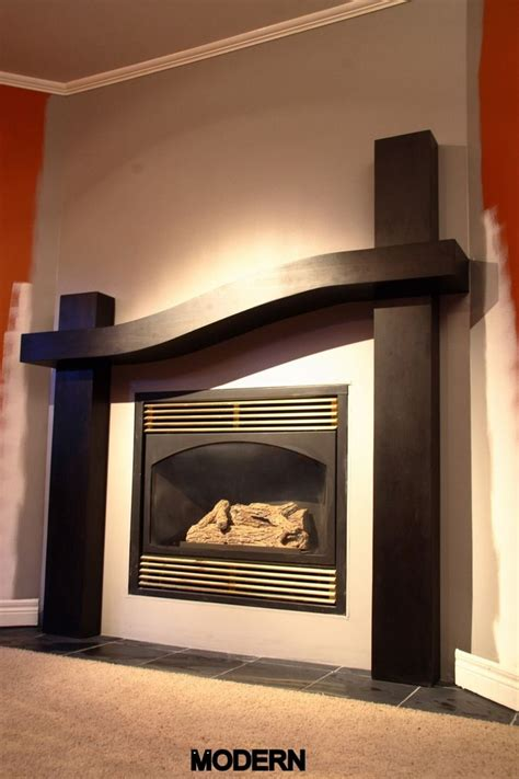 modern style fireplace mantel surround house decor