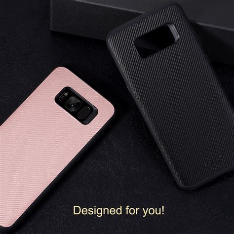Leos Going To Rocking The Black Carbon Samsung All The Way Up The Carpet by Rock Carbon Fiber Texture For Samsung Galaxy S8 Plus
